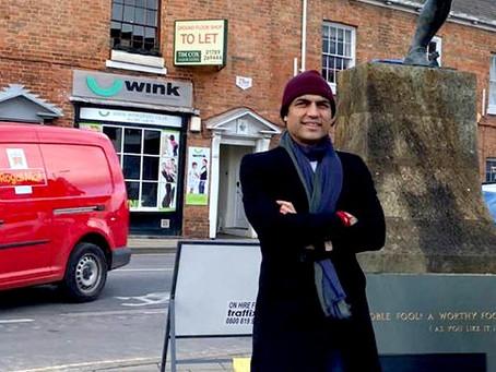 Maharishi Aazaad is Making his English Film The Great Patriot To Unite Whole World