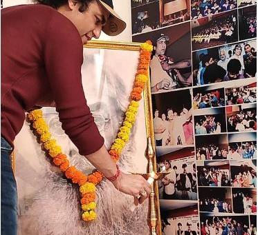 रामदंडी मेगास्टार आज़ाद ने मनाया भोंसला मिलिटरी स्कूल के संस्थापक डॉ मूँजे का भव्य जन्म महोत्सव।