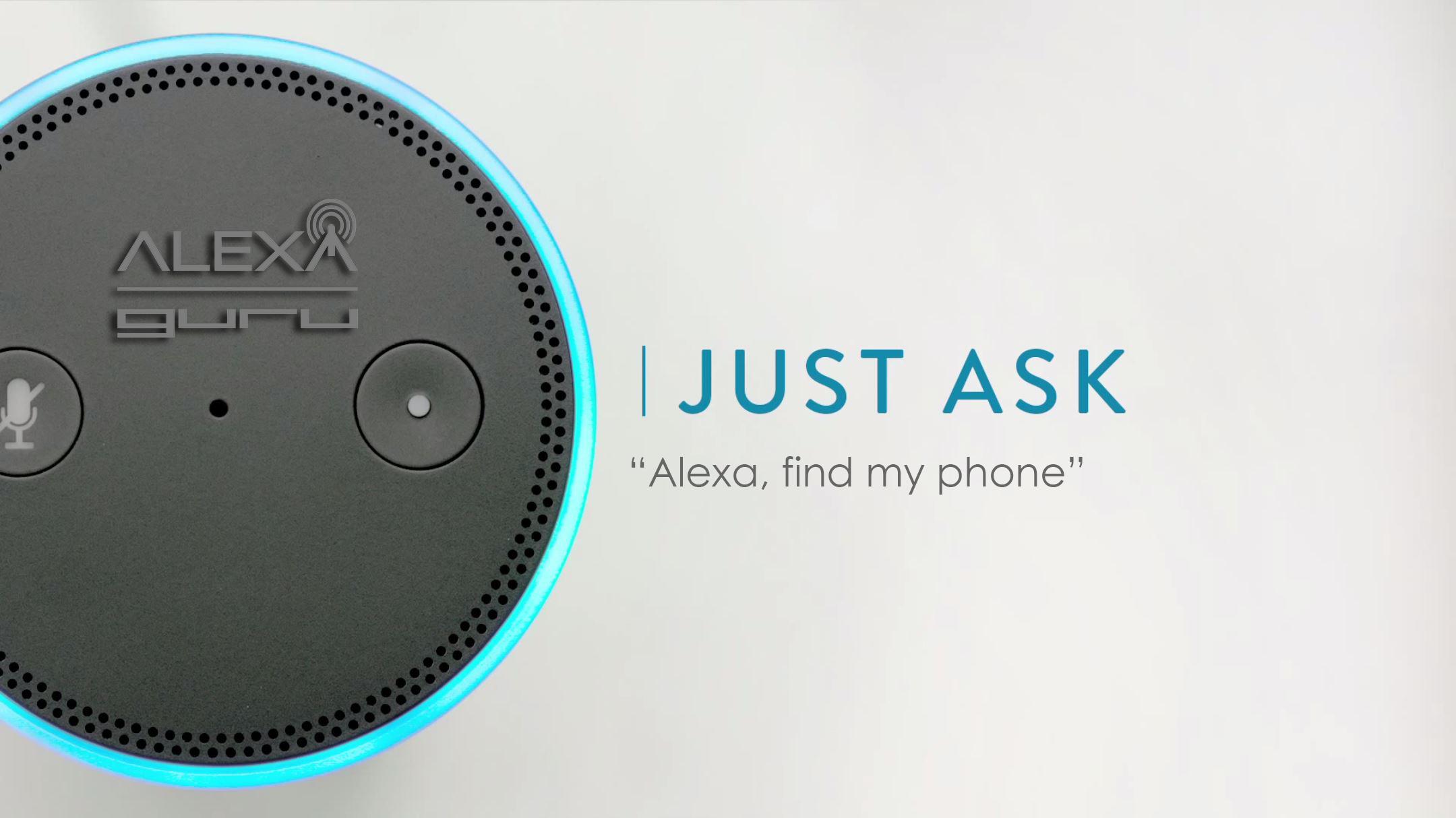 Just Ask Amazon Echo