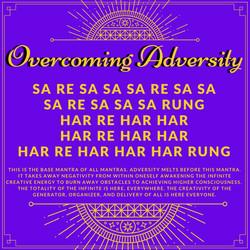 Overcome Adversity Sa Re Sa Sa