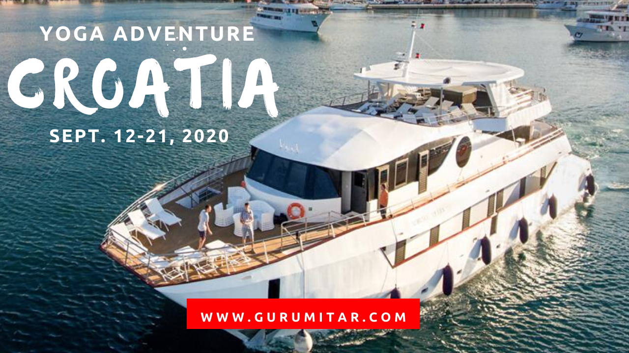 Croatia Sept 2020 with GuruMitar
