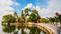 Hanoi Tran Quoc Pagoda