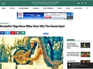 The Huffington Post  Kundalini: Guru Mitar Hits the Sweet Spot