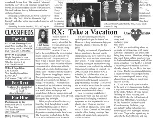 RX: Take a Vacation