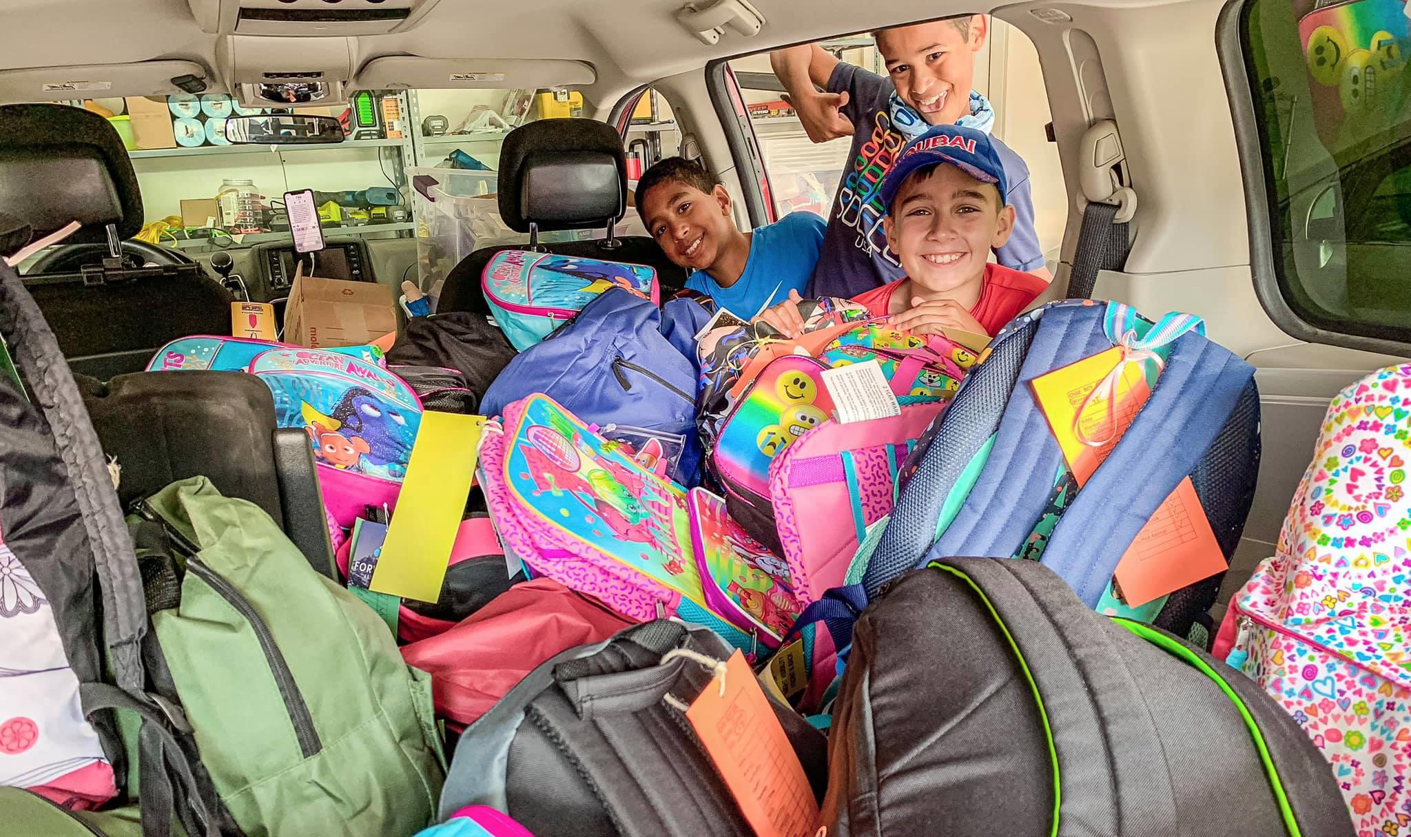 Backpacks for Foster Children.