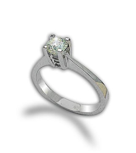 טבעת אירוסין 0.50 קראט