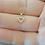 Thumbnail: תליון לב קטן משובץ יהלומים
