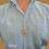 Thumbnail: שרשרת ותליון מגן דוד גדול משובץ יהלומים