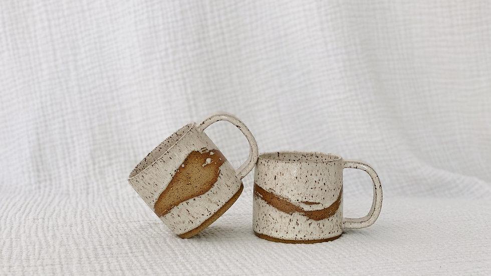 Cream Wave Mug