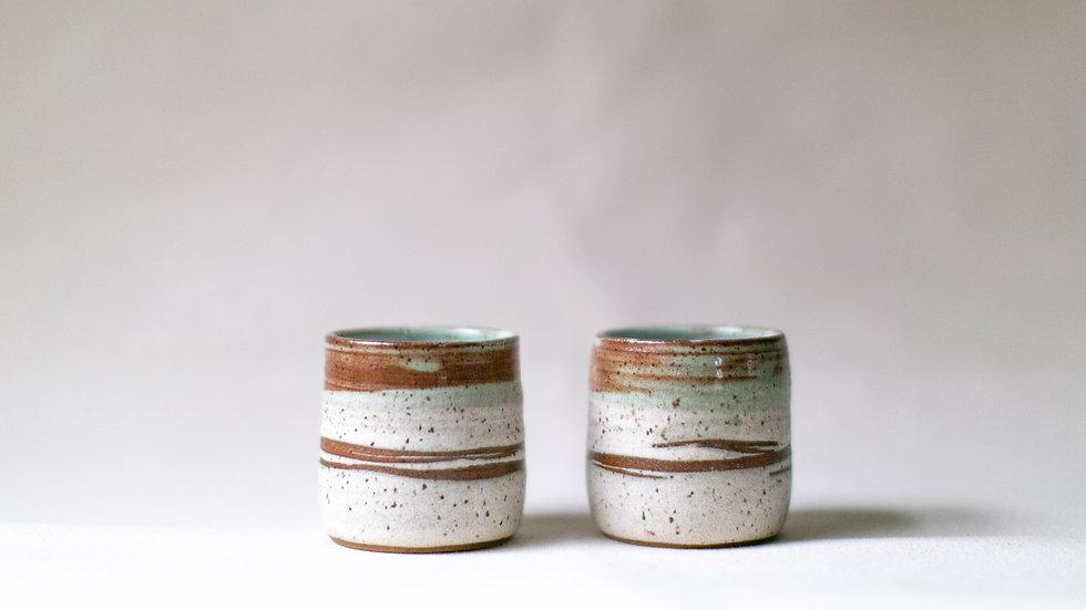 Speckled Landers Cup Set
