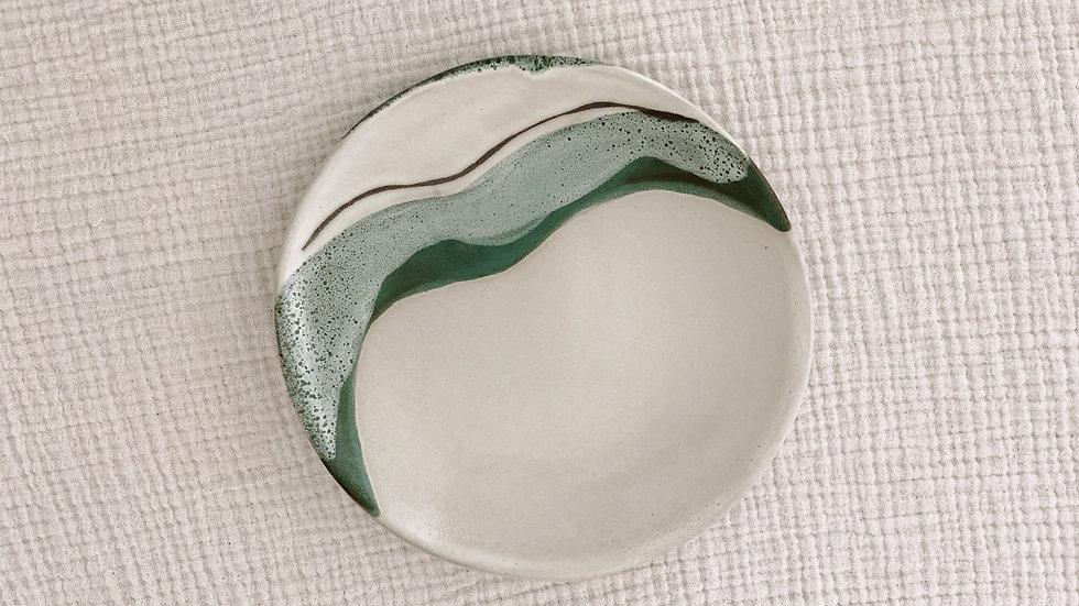 Sea Mist Salad Plate