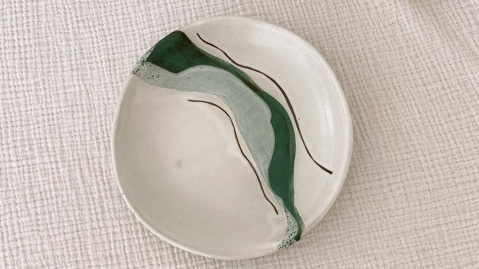 Sea Mist Pasta Plate