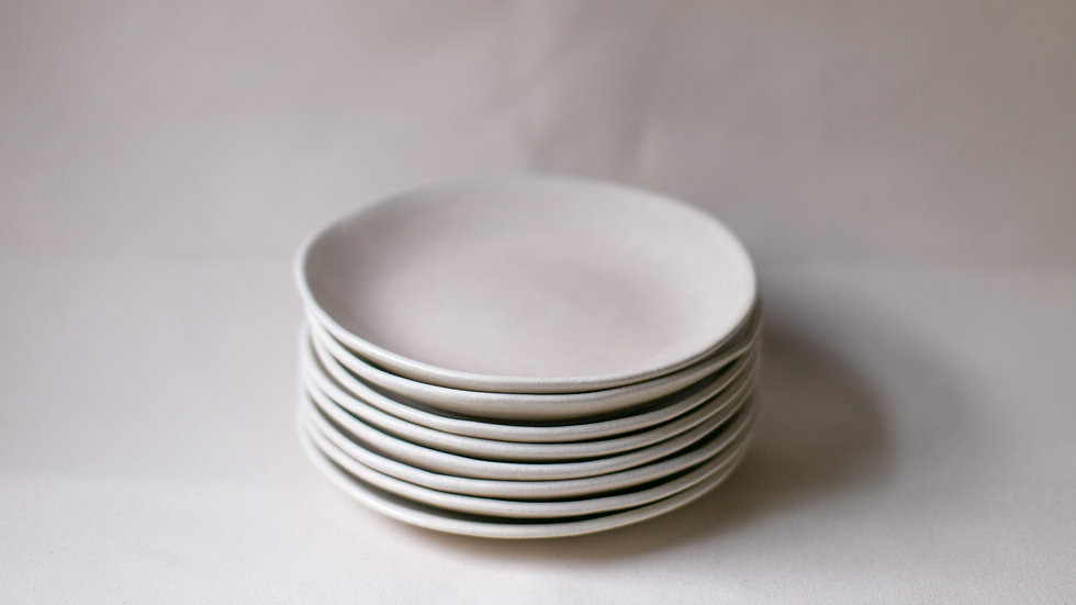Ecru Pasta Plate