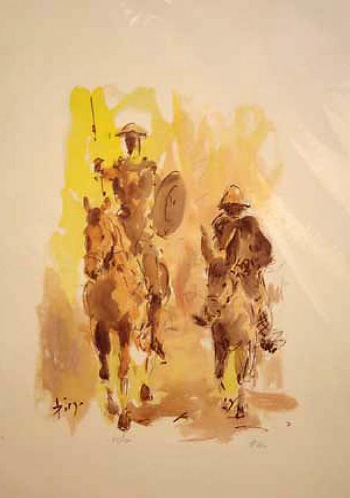 Don Quichote by Antonio Diego Voci