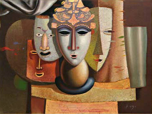 Königin der Masken by Antonio Diego Voci