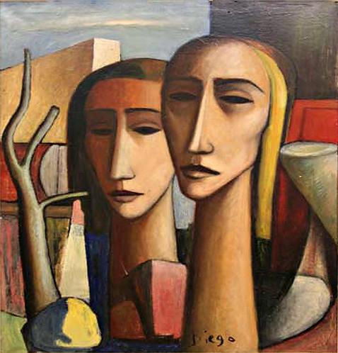 Têtes de Géants by Antonio Diego Voci