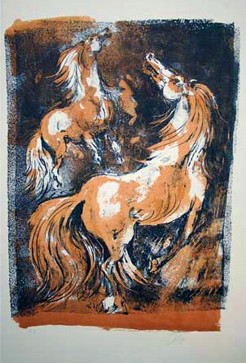 Pferde by Antonio Diego Voci