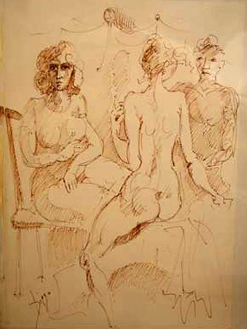 Nudi by Antonio Diego Voci