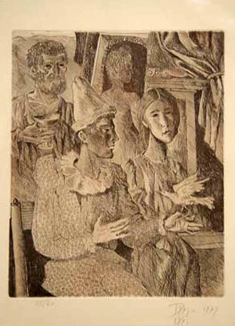 Le Théâtre by Antonio Diego Voci