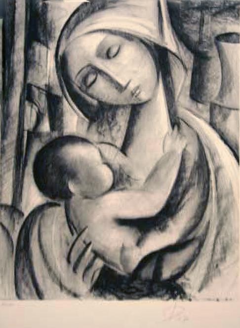 Title: Maternitè en Noir