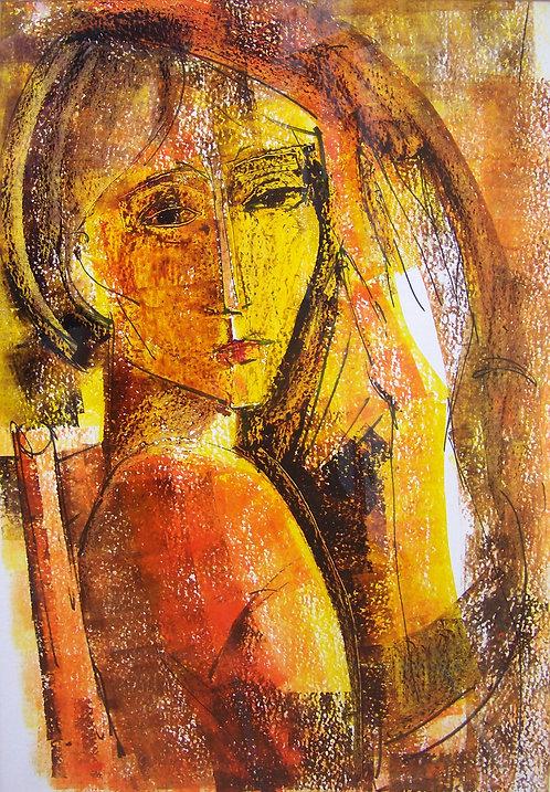 Jeune Fille by Antonio Diego Voci