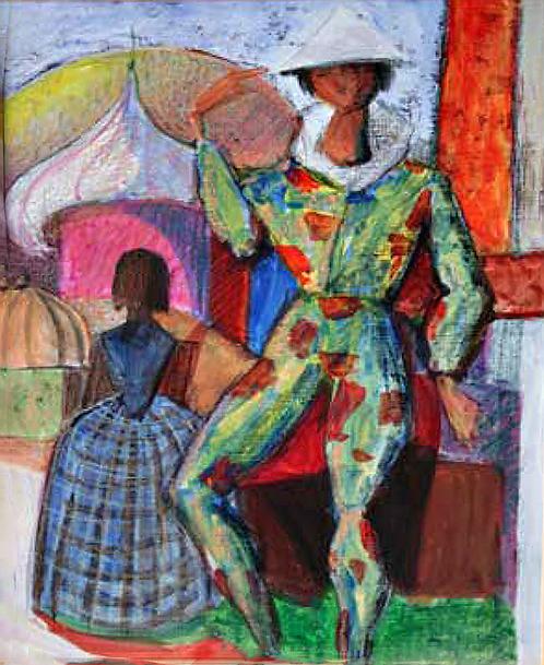 Arlequin au Théâtre by Antonio Diego Voci