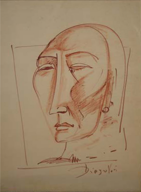 Face by Antonio Diego Voci