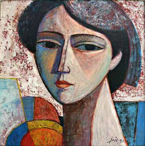 Visage de Fille by Antonio Diego Voci