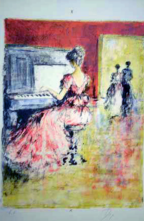 Title: Piano Player (single piece)