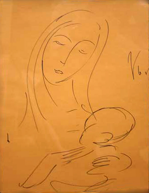 Title: Mother and Child