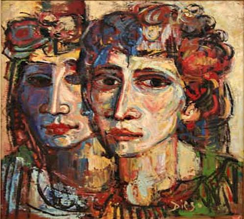 Le due Donne by Antonio Diego Voci
