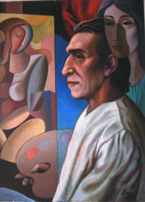 Der Kunstler und Sein Model