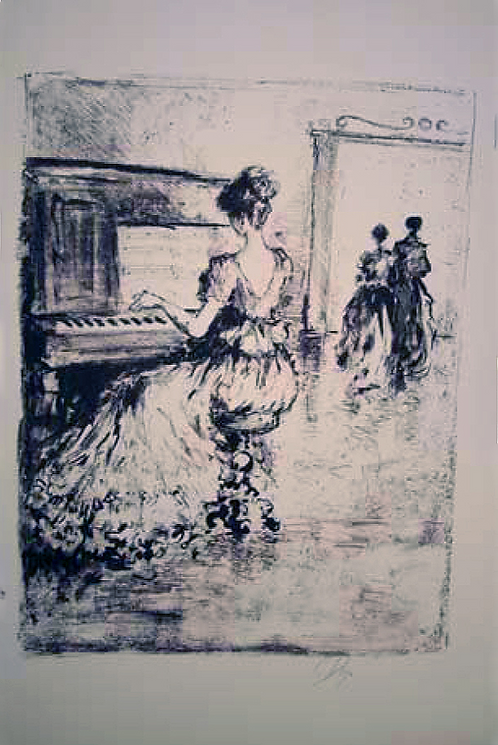 Title: Piano Player