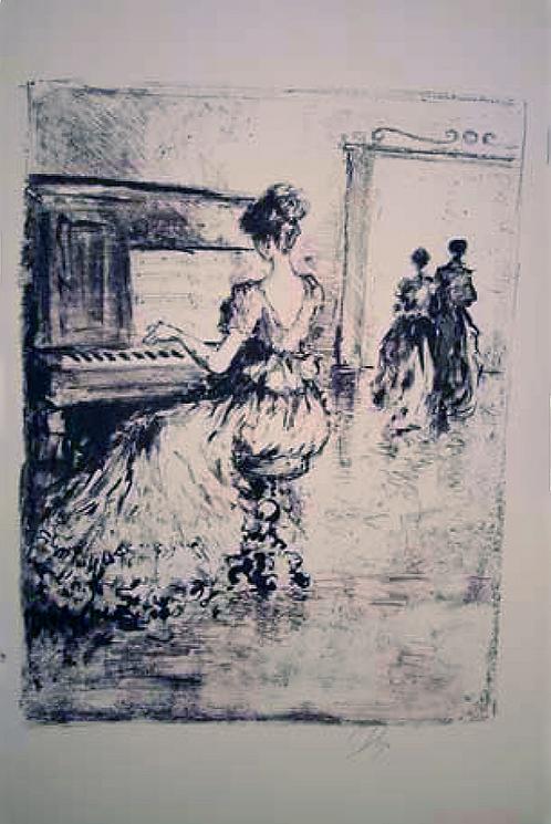 Piano Player by Antonio Diego Voci