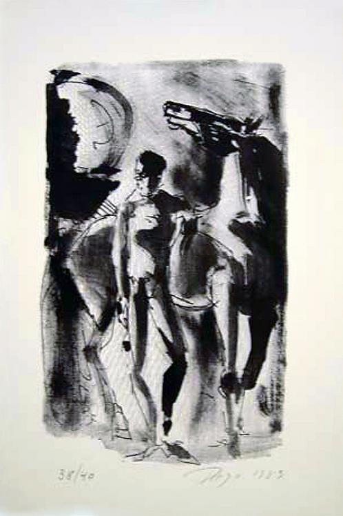 Reiter by Antonio Diego Voci