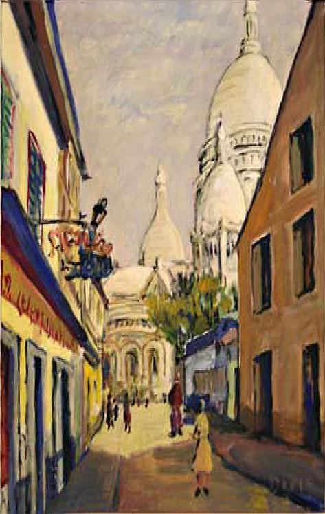 Sacre Coeur/Paris by Antonio Diego Voci