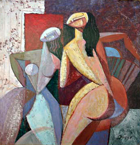 Composizione di Nudi by Antonio Diego Voci