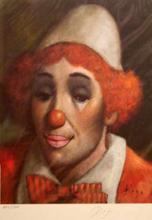 Clown by Antonio Diego Voci