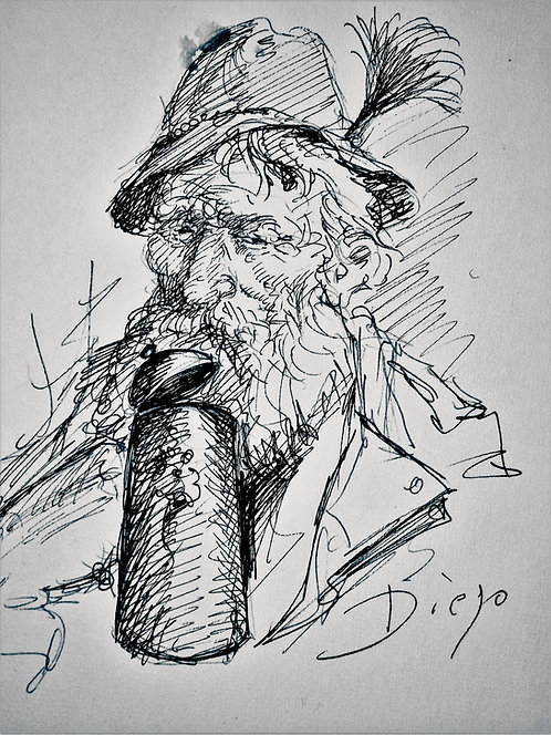 Bavarian Man by Antonio Diego Voci