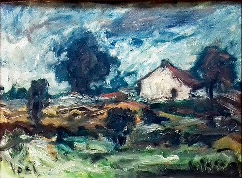 Landscape by Antonio Diego Voci