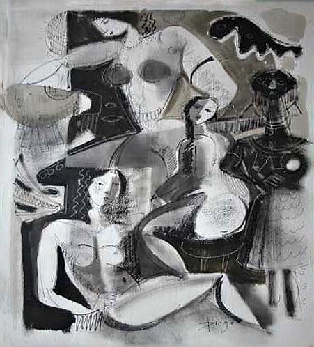 Die Badenden by Antonio Diego Voci