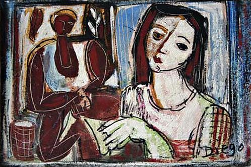 Jeune Femme by Antonio Diego Voci