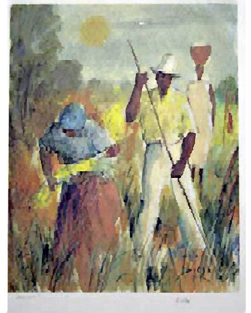 Farmer in the Field by Antonio Diego Voci