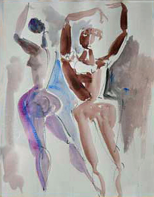 Tänzerinnen by Antonio Diego Voci