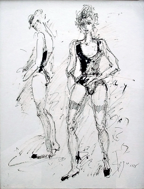 Danceuses by Antonio Diego Voci