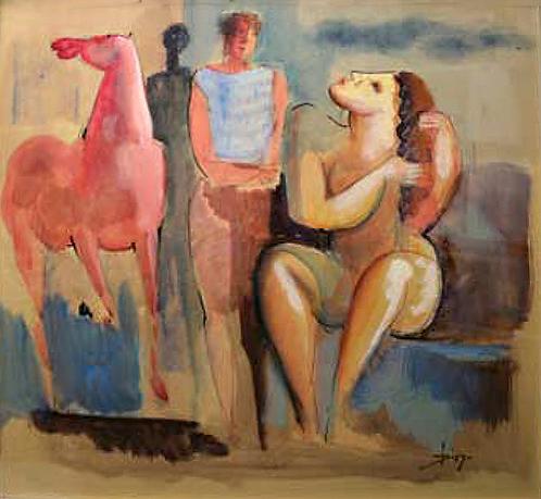 Le Repos by Antonio Diego Voci