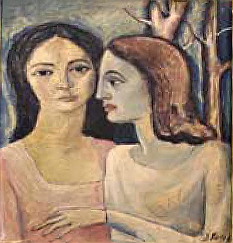 Le due Ragazze by Antonio Diego Voci