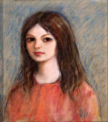 Portrait of a Girl by Antonio Diego Voci