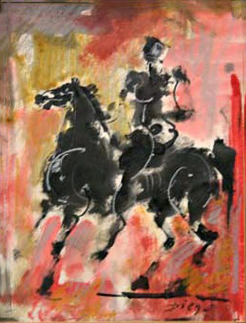 Der Schwarze Reiter by Antonio Diego Voci