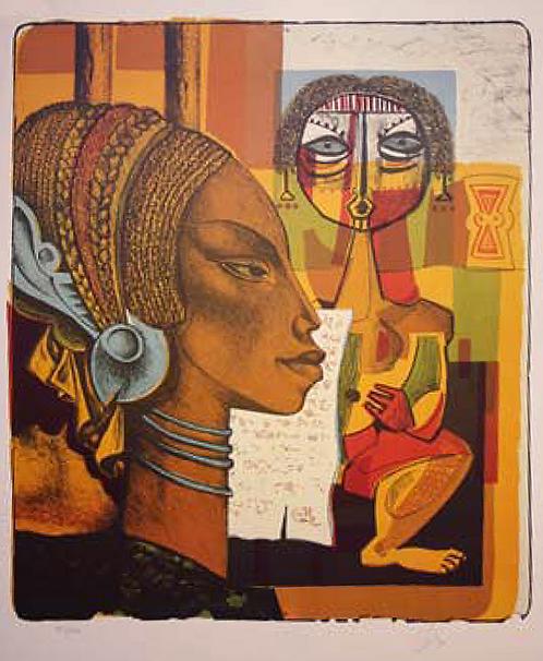 Composition Africane by Antonio Diego Voci